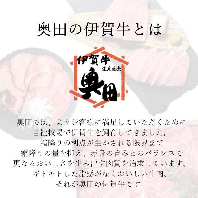 奥田の伊賀牛について