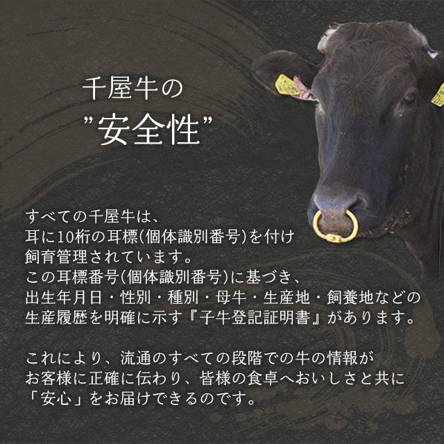 千屋牛の安全性