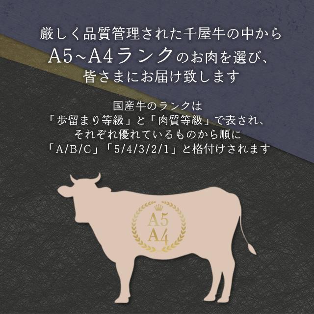 A4・A5ランクの千屋牛