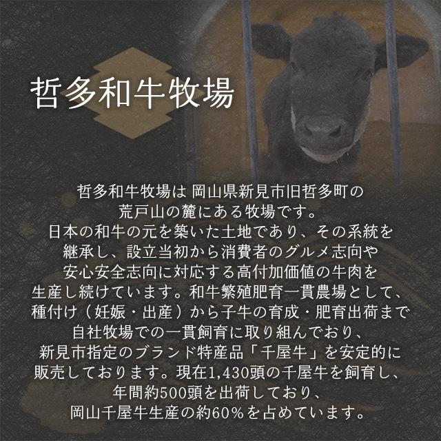 千屋牛の牧場